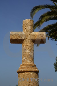 Sky brown spain cross javea.