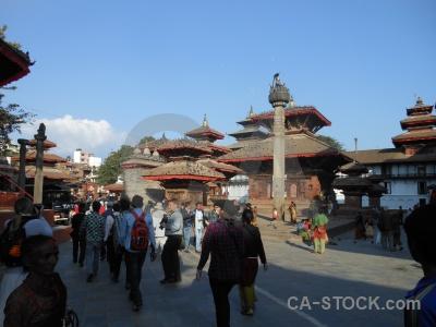 Sky building durbar square unesco hanuman dhoka.