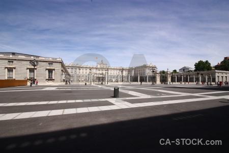 Sky building palace spain europe.