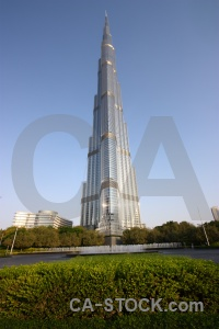 Sky burj khalifa tree middle east asia.