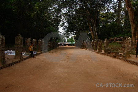 Sky cambodia block stone buddhist.