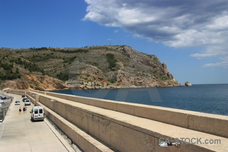 Sky car boat javea cloud.