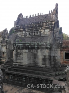 Sky carving ruin banteay samre temple siem reap.