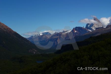 Sky cerro chalten argentina south america andes.