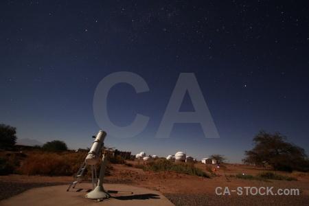 Sky chile astronomy atacama desert south america.