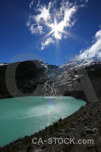 Sky cloud argentina el chalten huemul glacier.