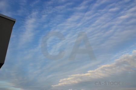 Sky cloud blue.