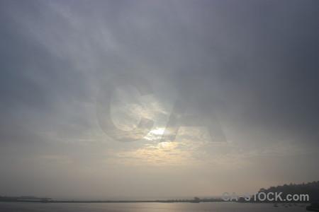 Sky cloud gray.