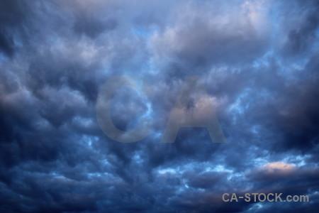 Sky cloud javea europe blue.