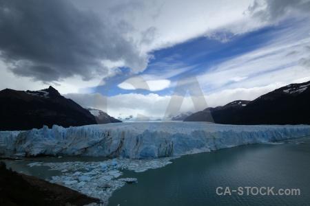Sky cloud lago argentino terminus water.