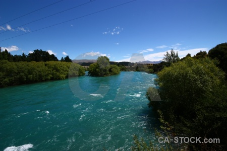 Sky clutha river cloud landscape south island.