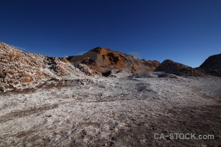 Sky cordillera de la sal rock valle luna desert.