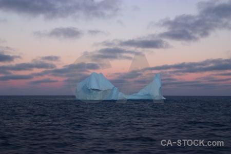 Sky day 4 iceberg sea water.