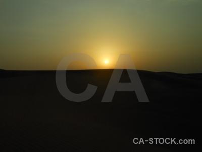 Sky dubai sunrise uae desert.