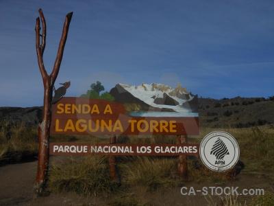 Sky el chalten patagonia argentina trek.
