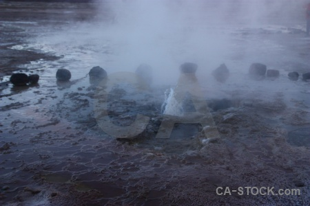 Sky el tatio chile andes pool.