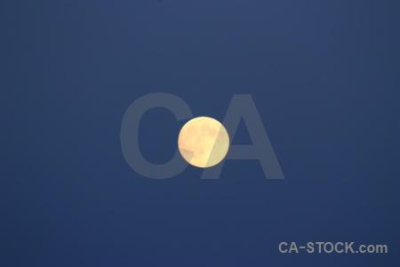 Sky europe karlskrona sweden moon.