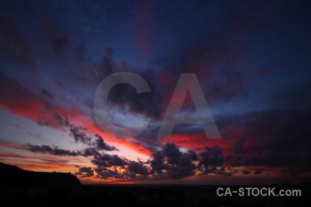 Sky europe sunrise blue javea.