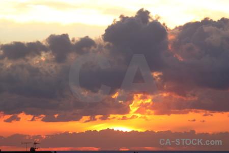Sky europe sunset javea sunrise.