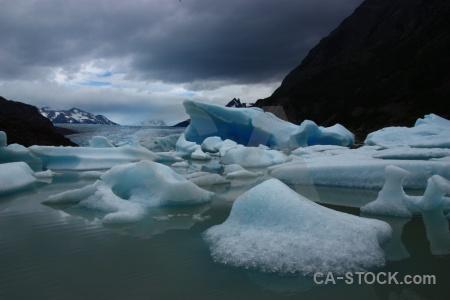 Sky glacier water lake torres del paine.