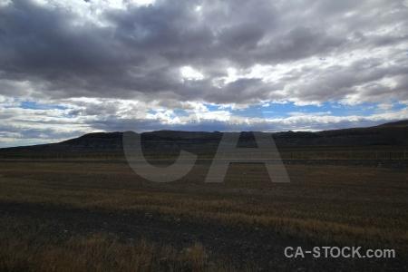 Sky grass argentina cloud landscape.