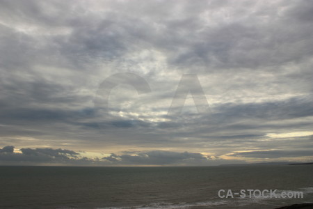 Sky gray cloud.