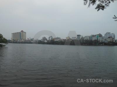 Sky hanoi water tree building.