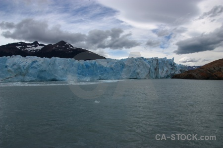 Sky ice mountain south america perito moreno.