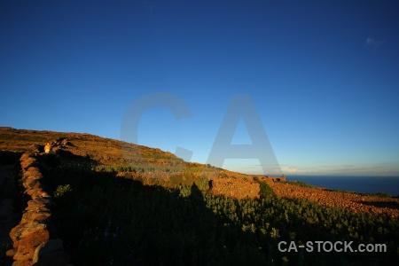 Sky island andes lake titicaca amantani.