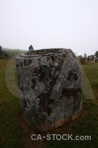Sky jar megalithic fungus southeast asia.