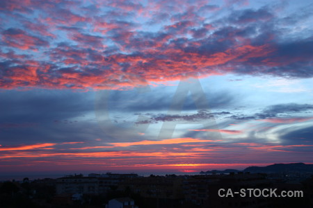 Sky javea cloud sunset europe.