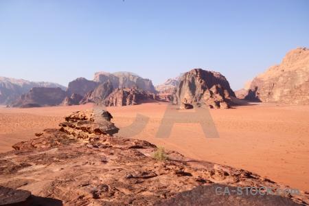 Sky jordan desert wadi rum asia.