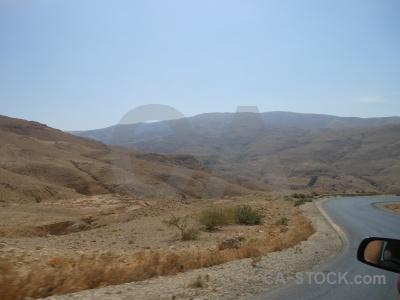 Sky jordan western asia road middle east.