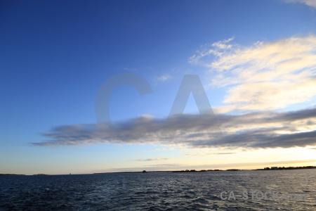 Sky karlskrona sea europe cloud.