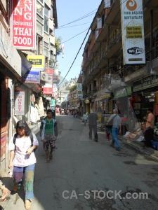 Sky kathmandu building south asia thamel.