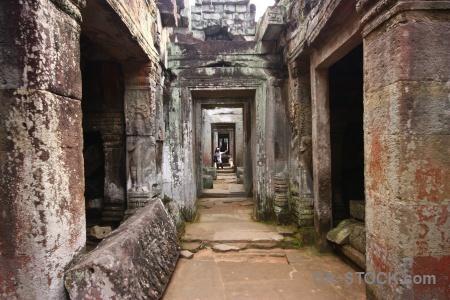 Sky khmer block preah khan buddhist.