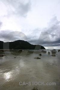 Sky ko phi don southeast asia sand storm.