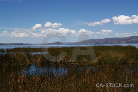 Sky lake puno reed cloud.