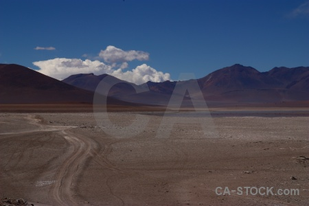 Sky landscape bolivia mountain altitude.