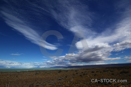 Sky landscape cloud mountain argentina.