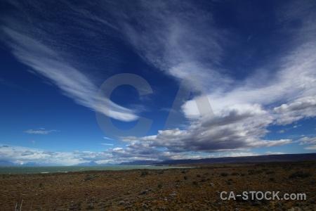 Sky landscape cloud mountain argentina.