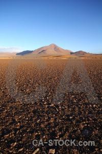 Sky landscape huayllajara bolivia andes.