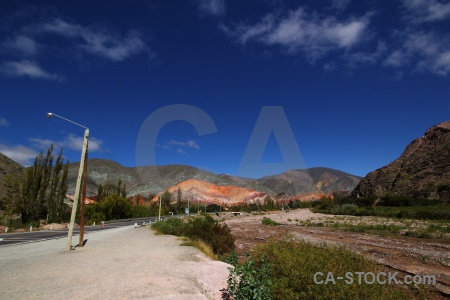 Sky landscape mountain south america salta tour.