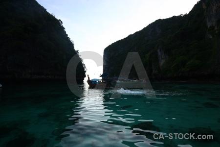 Sky limestone southeast asia loh samah sea.