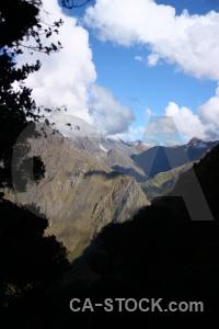 Sky llulluchapampa valley inca landscape andes.