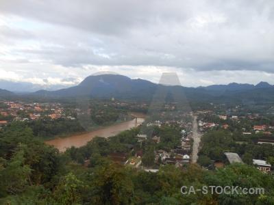 Sky luang prabang nam khan southeast asia phousi.