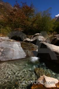 Sky modi khola valley asia nepal stone.