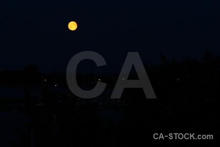 Sky moon europe sweden karlskrona.