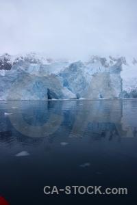 Sky mountain glacier antarctica cruise day 9.