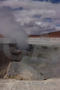 Sky mountain landscape geyser altitude.